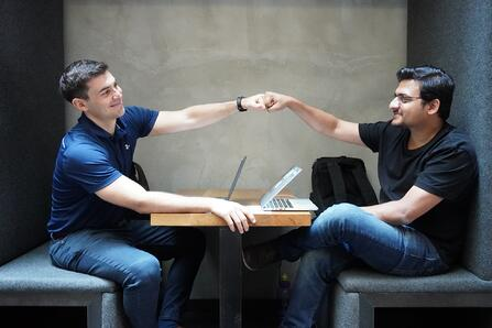 Theo & Uzair - Right-Hand co-founders